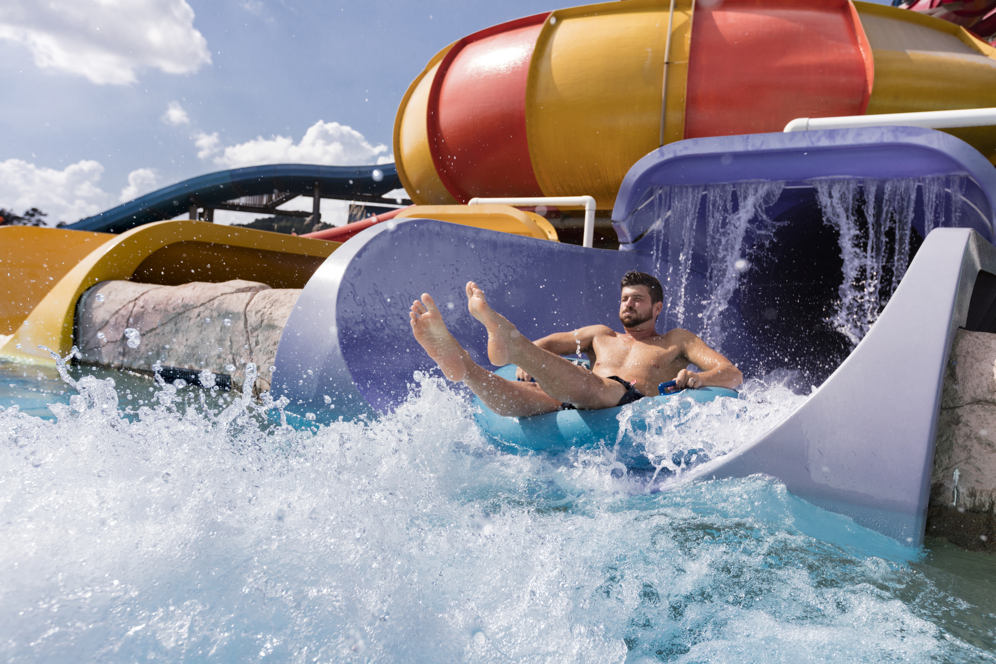 Magic Springs Water Slide